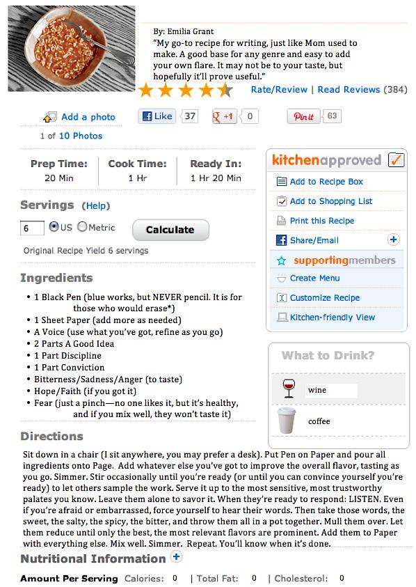 How to Write a Recipe - Rachel Cooks®