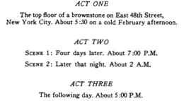 3 Acts