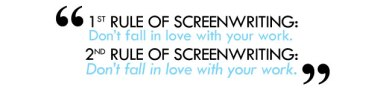 rules of screenwriting