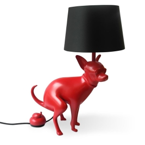 pooping chihuahua lamp in red1 IIHIH