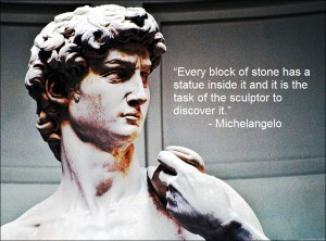 Stone. Words. Watercolors. Whatever your art, it's about discovery.