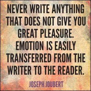 Emotion Quote - Joubert